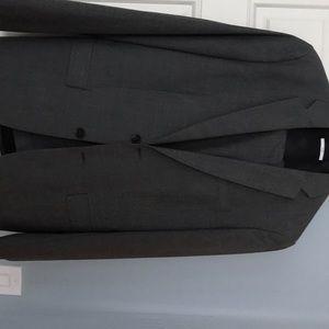Men's grey suit